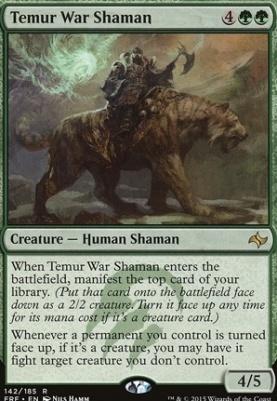 Fate Reforged: Temur War Shaman