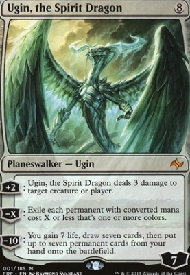 Fate Reforged Foil: Ugin, the Spirit Dragon