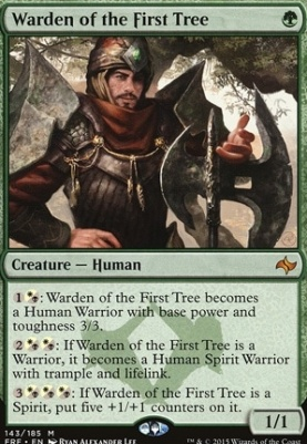 Fate Reforged: Warden of the First Tree