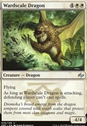 Fate Reforged Foil: Wardscale Dragon