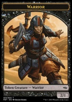 Fate Reforged: Warrior Token