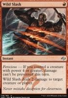 Fate Reforged Foil: Wild Slash