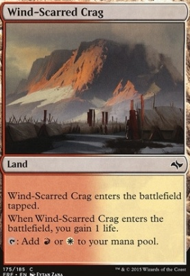 Fate Reforged: Wind-Scarred Crag