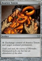 Fifth Dawn Foil: Avarice Totem