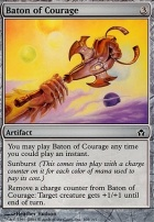 Fifth Dawn Foil: Baton of Courage