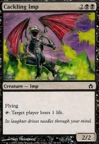 Fifth Dawn Foil: Cackling Imp