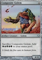 Fifth Dawn Foil: Composite Golem