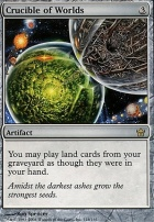 Fifth Dawn Foil: Crucible of Worlds