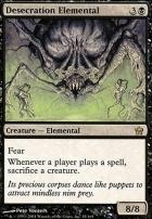Fifth Dawn Foil: Desecration Elemental