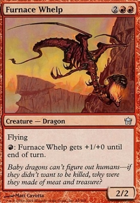 Fifth Dawn Foil: Furnace Whelp