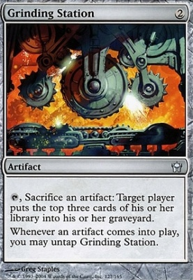 Fifth Dawn Foil: Grinding Station