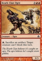 Fifth Dawn Foil: Krark-Clan Ogre