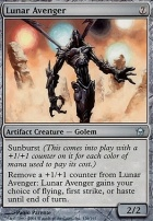 Fifth Dawn Foil: Lunar Avenger