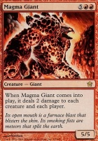 Fifth Dawn: Magma Giant