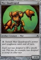 Fifth Dawn Foil: Myr Quadropod