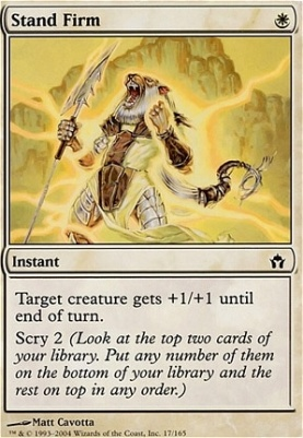 Fifth Dawn Foil: Stand Firm