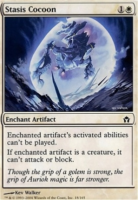 Fifth Dawn Foil: Stasis Cocoon