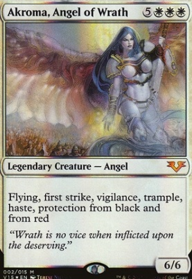 From the Vault: Angels: Akroma, Angel of Wrath