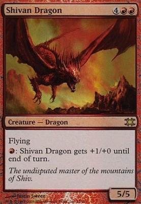 From the Vault: Dragons: Shivan Dragon