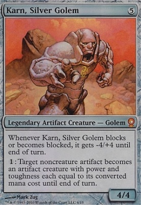 From the Vault: Relics: Karn, Silver Golem