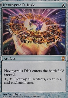 From the Vault: Relics: Nevinyrral's Disk