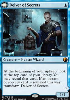 From the Vault: Transform: Delver of Secrets