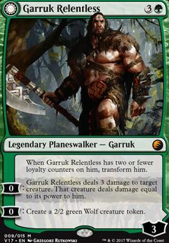 NM From the Vaults Magic the Gathering MTG 1x GARRUK RELENTLESS