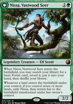 From the Vault: Transform: Nissa, Vastwood Seer