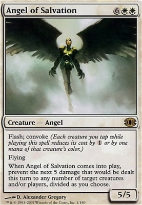 Future Sight Foil: Angel of Salvation