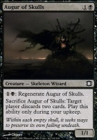 Future Sight Foil: Augur of Skulls