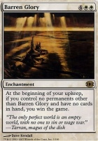 Future Sight Foil: Barren Glory