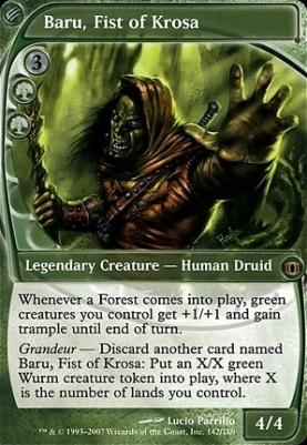 Future Sight: Baru, Fist of Krosa