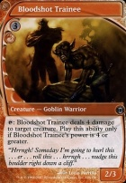 Future Sight Foil: Bloodshot Trainee
