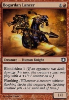 Future Sight Foil: Bogardan Lancer