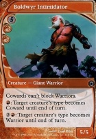Future Sight Foil: Boldwyr Intimidator