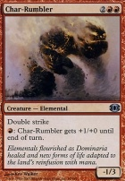Future Sight Foil: Char-Rumbler