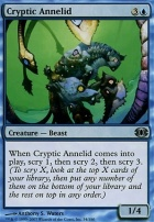 Future Sight Foil: Cryptic Annelid