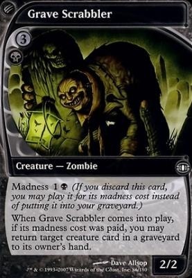Future Sight: Grave Scrabbler