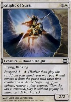 Future Sight Foil: Knight of Sursi
