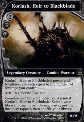 Future Sight: Korlash, Heir to Blackblade