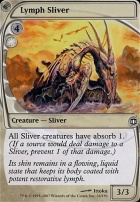 Future Sight Foil: Lymph Sliver