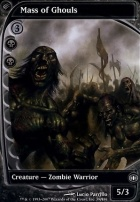 Future Sight Foil: Mass of Ghouls