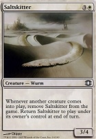 Future Sight Foil: Saltskitter