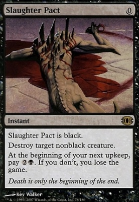 Future Sight: Slaughter Pact