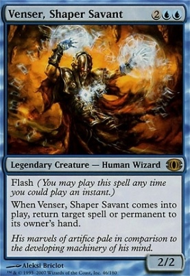 Future Sight Foil: Venser, Shaper Savant