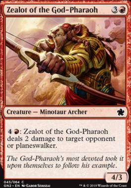 Game Night 2019: Zealot of the God-Pharaoh