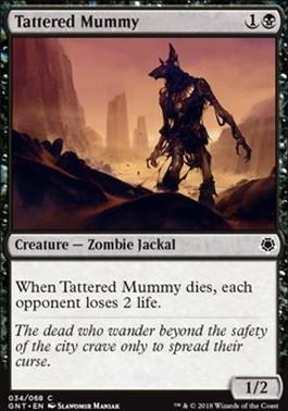 Game Night: Tattered Mummy