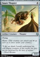 Game Night: Snare Thopter