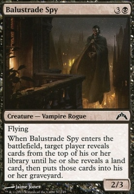 Gatecrash: Balustrade Spy