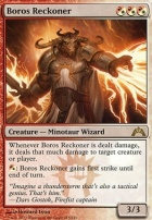 Gatecrash Foil: Boros Reckoner